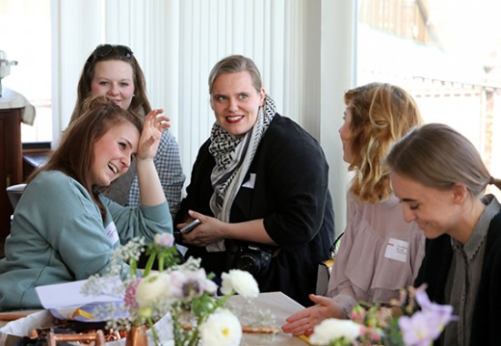 Get-together und Networking mit den Bloggerkollegen.