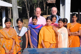 Andreas Christmann in Indien