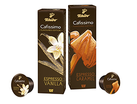 Cafissimo flavoured